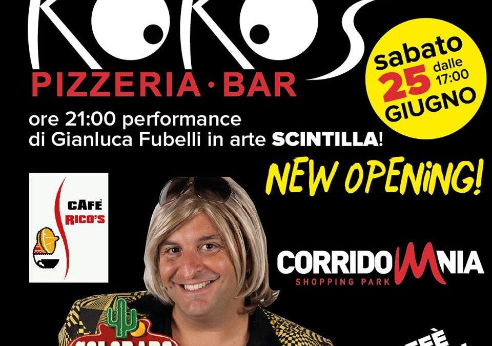 'SCINTILLA' inaugura il KOKO'S di Corridonia