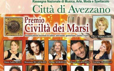 Sergio Muniz premio di Avezzano