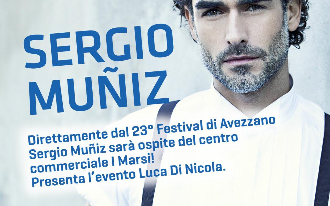 Sergio Muniz ospite del Centro Commerciale I MARSI