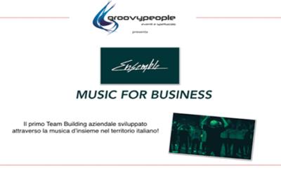ENSEMBLE,  music for business – #groovyformat