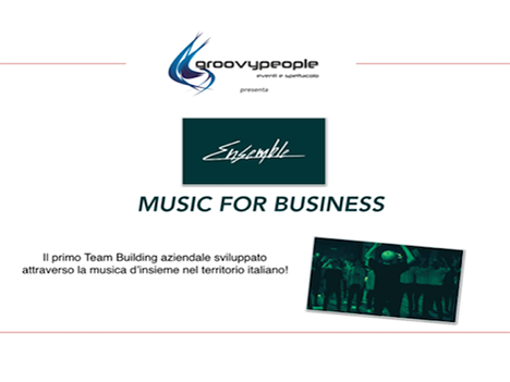 ENSEMBLE,  music for business – #groovyformat