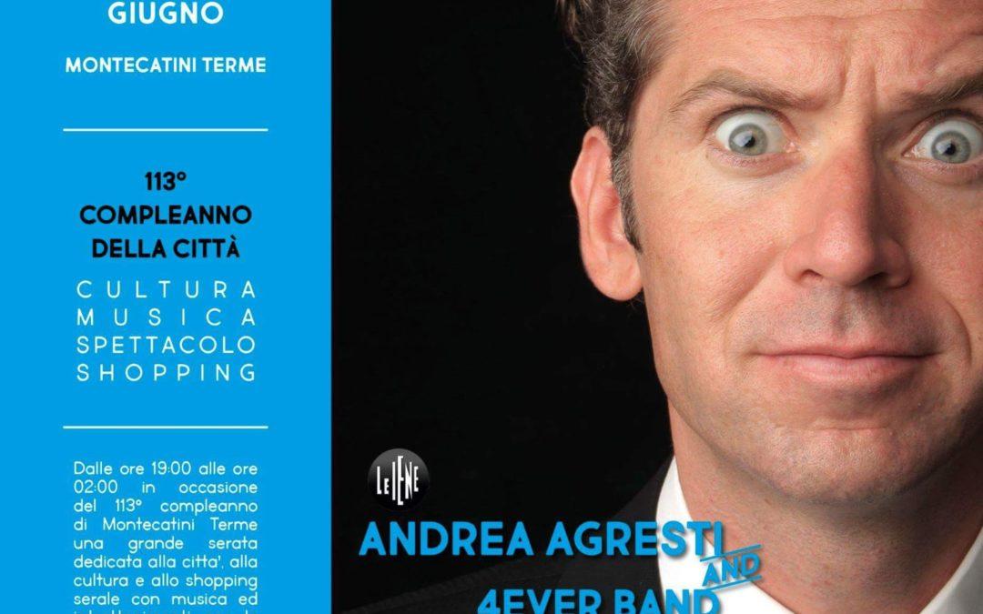Andrea Agresti live a Montecatini Terme
