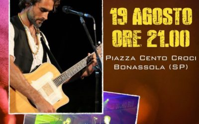 SERGIO MUNIZ – live show a Bonassola