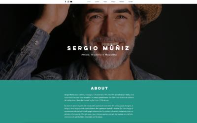 Online il nuovo sito di Sergio Muniz